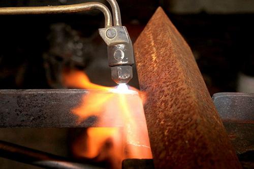 Резка металла пропаном и кислородом - оборудование, горелка, расход и давление пропана при резке 4