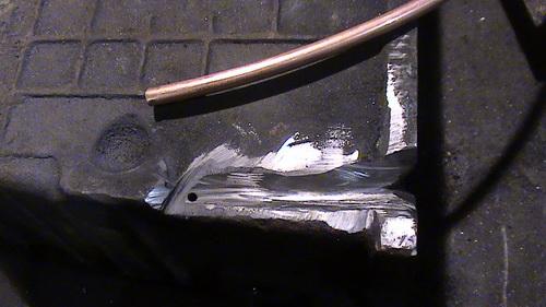 Сварка чугуна электродом - видео процесса 2