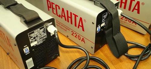 Сварочные аппараты инверторные Ресанта - отзывы пользователей по Ресанта 160 и 190 5