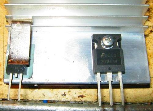 Самый простой сварочный инвертор своими руками - подбираем транзисторы 4