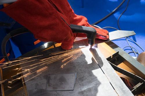 Ручная плазменная резка металла - видео и фото процесса 4