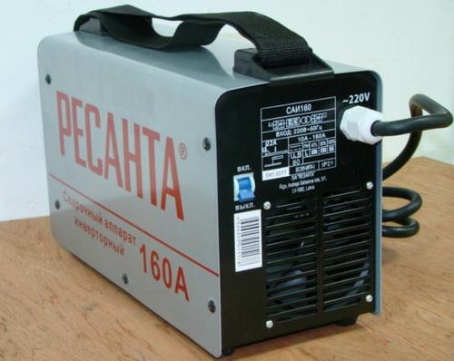 Сварочные аппараты инверторные Ресанта - отзывы пользователей по Ресанта 160 и 190 4
